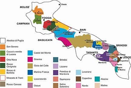 Apulië-(Puglia)