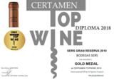 Certamen Top Wine Gold Medal