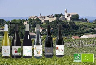 Camille Cayran proefpakket biologische wijnen